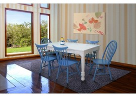 Coastal 1+6 seater dining set