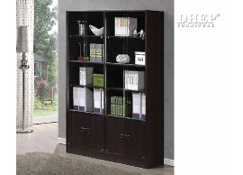 410888 File Cabinet with Glass