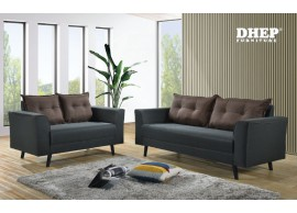 Jack 518051 Sofa Set (2+3s) Brown