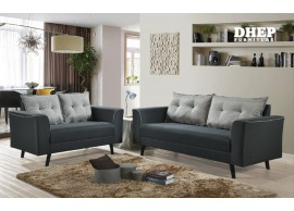 Jack 518051 Sofa Set (2+3s) Grey