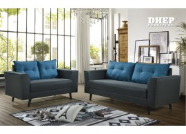 Jack 518051 Sofa Set (2+3s) Navy Blue