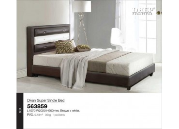 473859 Divan Super Single Bed