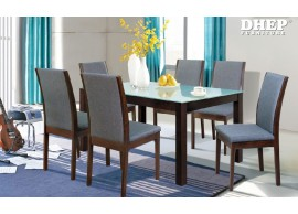 Terri + Delayne 230133 1+6 Seater Dining Set