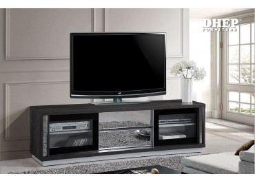 299151 Jayden TV Cabinet with Glass