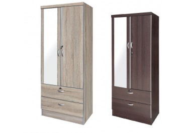260024 WARDROBE WITH MIRROR