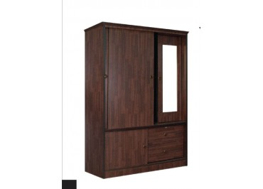 420760 Wardrobe With Mirror