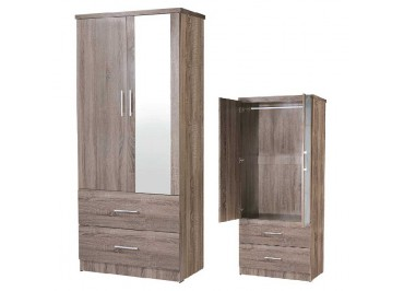 SU 932M Wardrobe with Mirror
