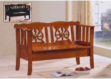 305024 Bench Chair with Storage Seat