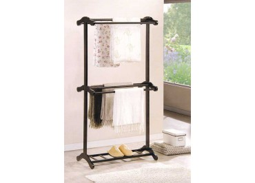 258282 Wooden Towel Rack
