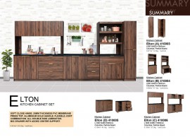 Elton Kitchen Cabinet Set