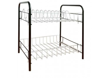 537712  2 Layer Plate Rack