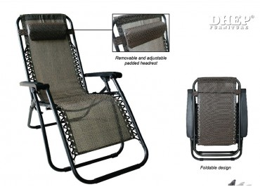 140787 ZERO GRAVITY RECLINER CHAIR