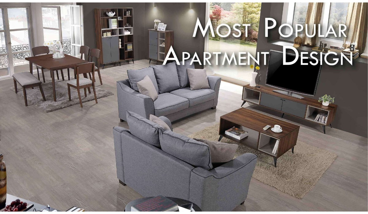MOST POPULAR APARTMENT DESIGN